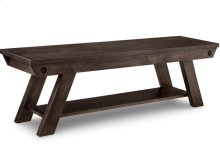 """Algoma 60"""" Bench in Fabric or Bonded Leather"""