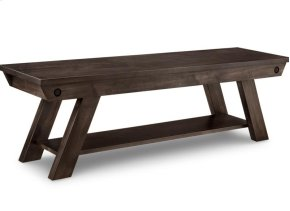 """Algoma 60"""" Bench with Wood Seat"""