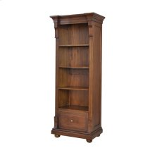 St Joseph Open Single Cabinet In Woodlands Stain