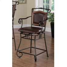 Traditional Metal Bar Stool
