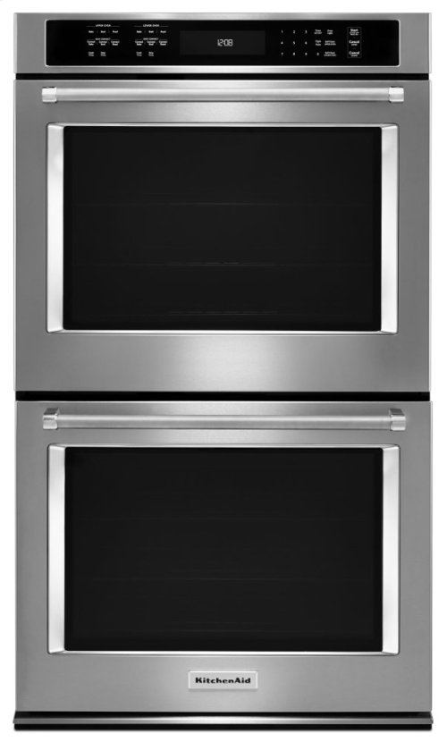 "30"" Double Wall Oven with Even-Heat True Convection - Stainless Steel"