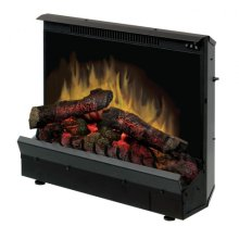 """Deluxe 23"""" Log Set Electric Fireplace Insert"""