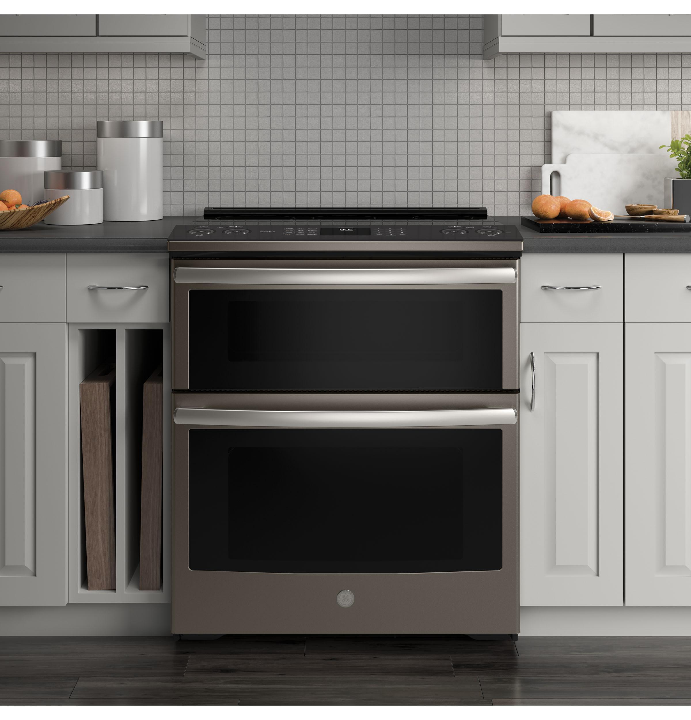 Ps960eles Ge Profile Series 30 Slide In Electric Double Oven