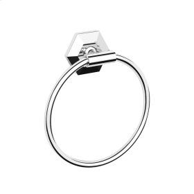 Waldorf Towel Ring - Polished Nickel
