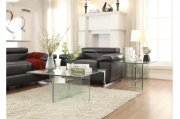 End Table with All Glass Product Image