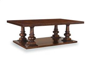 Whiskey Oak Rectangular Cocktail Table