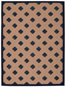 Aloha Alh02 Nav Rectangle Rug 5'3'' X 7'5''