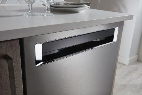 46 DBA Dishwasher with Third Level Rack and PrintShield Finish, Pocket Handle - PrintShield Stainless