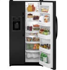 GE® ENERGY STAR® 21.9 Cu. Ft. Side-By-Side Refrigerator with Dispenser