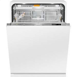 MieleG 6880 SCVi K2O AM Fully-integrated, ADA dishwasher with hidden control panel, 3D+ cutlery tray, Knock2open and custom panel ready