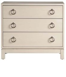 Tomlin Three Drawer Nightstand
