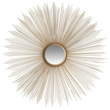 Sun Burst Mirror - Gold