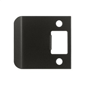"Extended Lip Strike Plate, 2 1/2"" Overall - Oil-rubbed Bronze"