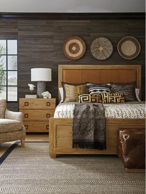 Antilles Upholstered Panel Bed Queen Headboard