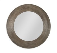 Casa Bella Reeded Mirror Timber Gray Finish Product Image