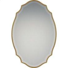 Monarch Mirror in Gallery Gold