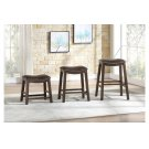 18 Dining Stool, Brown Product Image