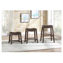 24 Counter Height Stool, Brown