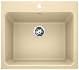 Blanco Liven Laundry Sink - Biscotti