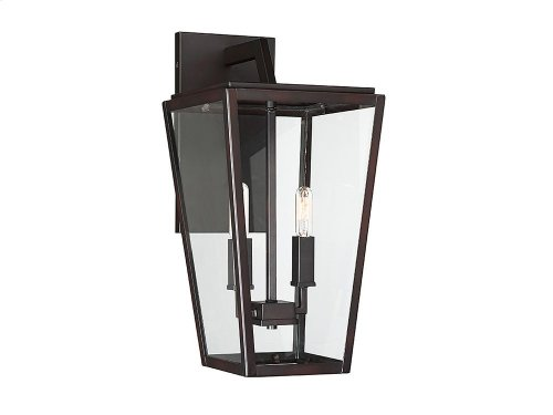 Milton 2 Light Wall Lantern