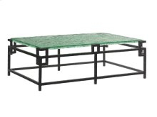 Hermes Reef Glass Top Cocktail Table