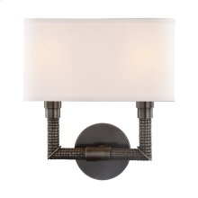 Wall Sconce - DISTRESSED BRONZE
