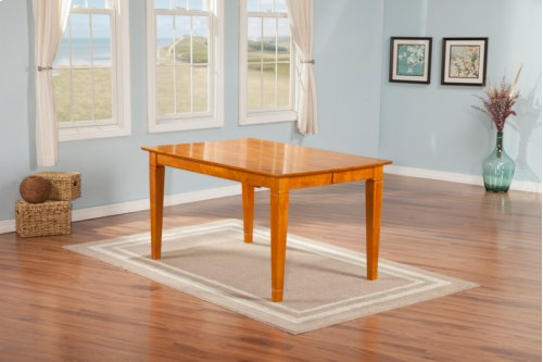 Montego Bay Dining Table 36x60 Caramel Latte
