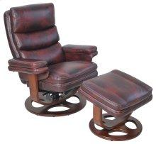 Bella 15-8023 Pedestal Chair and Ottoman