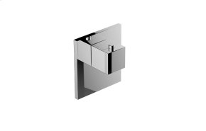 M-Series Square Thermostatic Valve Trim Plate and Handle
