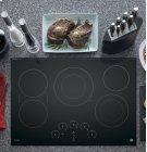 "GE Profile 30"" Electric Cooktop with Built-In Touch Control Product Image"