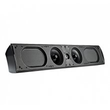 On-wall main and center channel L/C/R loudspeaker