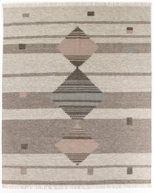8'x10' Size Mendora Diamond Stripe Rug