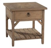 Sutton's Bay Primitive One Drawer Lamp Table