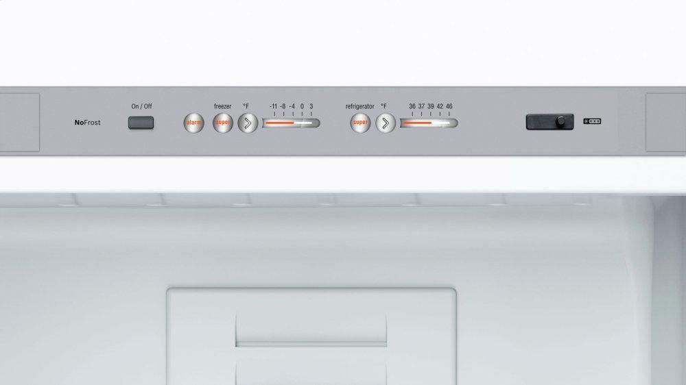 B10cb80nvw Bosch 800 Series Free Standing Fridge Freezer