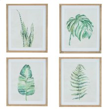 Leaf Prints - Set Of Four
