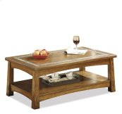 Craftsman Home Coffee Table Americana Oak finish