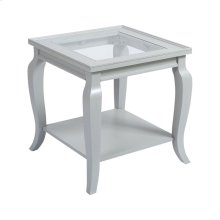 Mcfarland Grey White Side Table