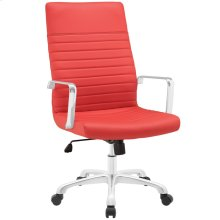 Finesse Highback Office Chair in Red