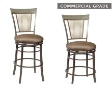 "Malorie Swivel Counter Stool 24""x20.47""x41.2"""
