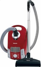 Compact C1 HomeCare PowerLine - SCAE0 canister vacuum cleaners with turbo floorhead for thorough cleaning of hard floors, low-pile carpeting. Product Image