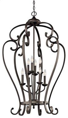 Monroe 8 Light Foyer Cage Pendant Olde Bronze®
