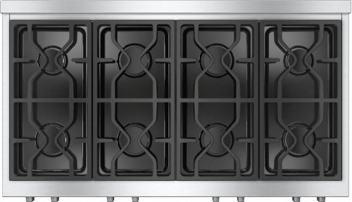 KMR 1354 LP RangeTop with 8 burners for professional applications