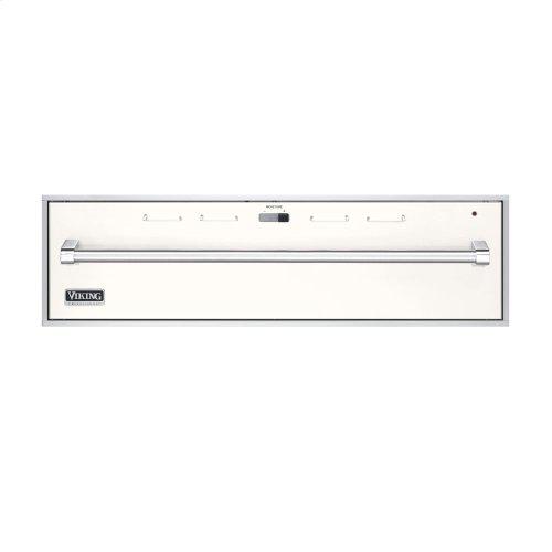 "Cotton White 36"" Professional Warming Drawer - VEWD (36"" wide)"