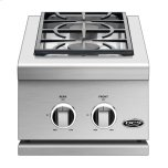 "Dynamic Cooking Syst14"", Series 9, Double Side Burner, Lp Gas"