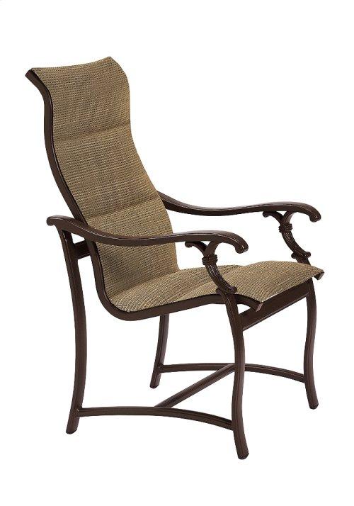 Ravello Padded Sling High Back Dining Chair