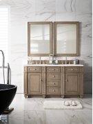 "Bristol 60"" Double Bathroom Vanity Product Image"