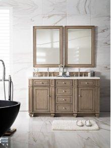"Bristol 60"" Double Bathroom Vanity"