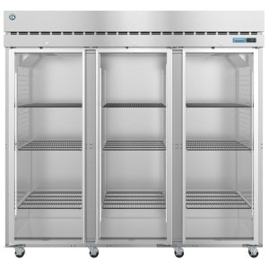 HoshizakiR3A-FG, Refrigerator, Three Section Upright, Full Glass Doors with Lock