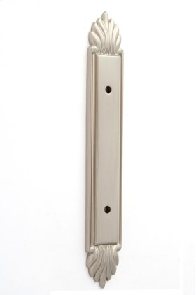 Fiore Backplate A1477-3 - Satin Nickel
