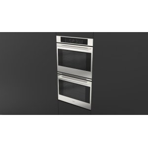 """Fulgor Milano30"""" Touch Control Double Oven - stainless Steel"""